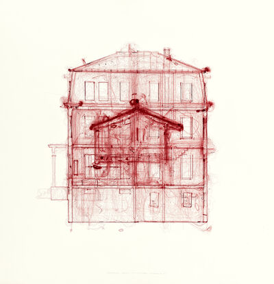 Do Ho Suh, 'ScaledBehaviour_drawing (HomeWithinHome_elevation_A_01)', 2021