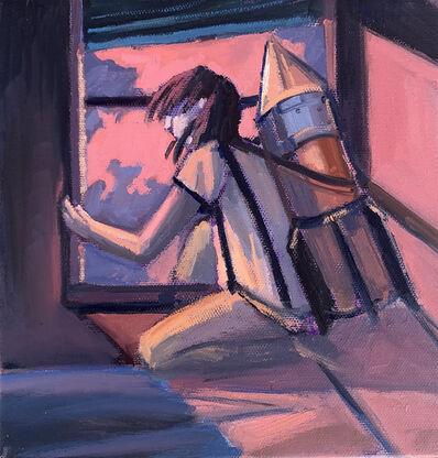 Alessandra Carloni, 'In fuga nella notte', 2020