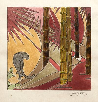 Gaston Suisse, 'Panthère noire', 1926