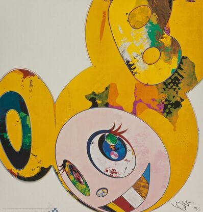 Takashi Murakami, 'And Then x 6 (Yellow Universe)', 2013