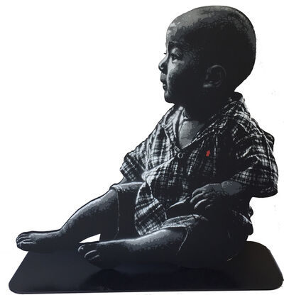 Jef Aérosol, 'ASIAN BABY', 2019
