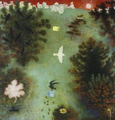 Alasdair Wallace, 'White Sparrow', 2013