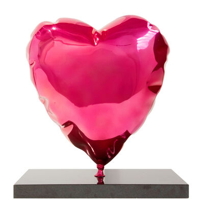 Mr. Brainwash, 'Heart Balloon Sculpture, Pink', 2019