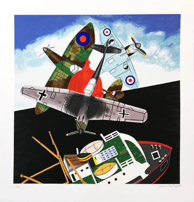 Malcolm Morley, 'BATTLE OF BRITAIN', 2005