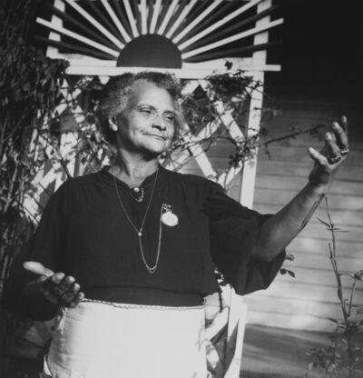 Eudora Welty, 'Old Midwife (Ida M'Toy), Jackson Mississippi', 1940