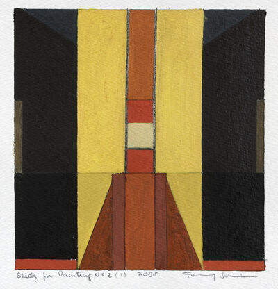 Fanny Sanin, 'Study for Painting No. 2 (1), 2005', 2005