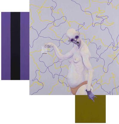 Michael Kvium, 'Gallery III', 2017