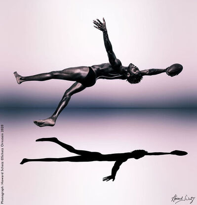Howard Schatz, 'Shapes of the NFL:  Preston Williams, Wide Receiver, Miami Dolphins', 2020