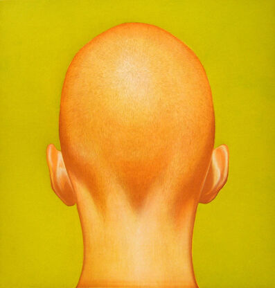 Salomón Huerta, 'Untitled (Head with Chartreuse)', 2001