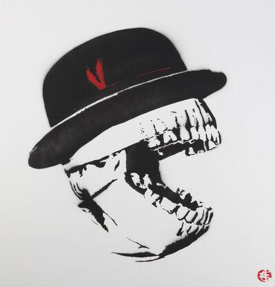 Nick Walker, 'Skeleton Hat'
