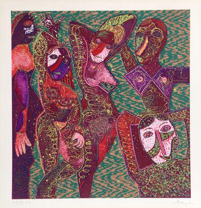 Enrico Baj, 'Les Demoiselles', ca. 1980