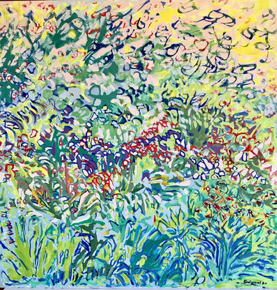 Jean Marie Toulgouat, 'Summer Garden In Giverny', 1980