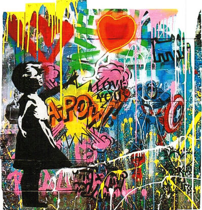 Mr. Brainwash, 'Balloon Girl (WBX131)', 2019