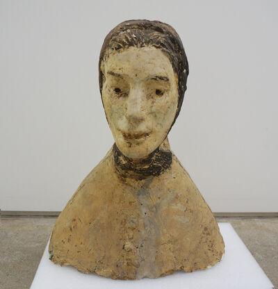 Kwon Jinkyu, 'A Woman with a Scarf', ca. 1969