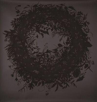 Zachari Logan, 'Wreath No. 2, Silhouette', 2018