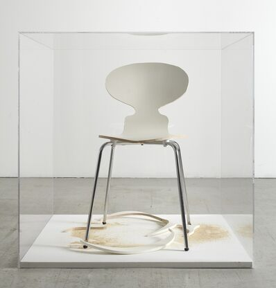 SUPERFLEX, 'Copy Right (single chair, white version)', 2006