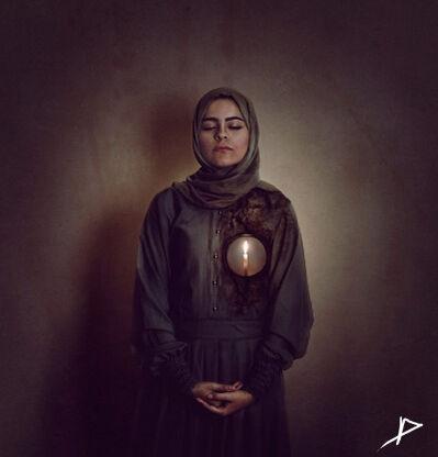 Lubna Abdel Aziz, 'Always in the Heart', 2014