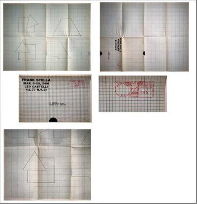 """Frank Stella, '""""FRANK STELLA"""", 1966, Exhibition Invite/Announcement, Leo Castelli Gallery NYC, very RARE ', 1966"""