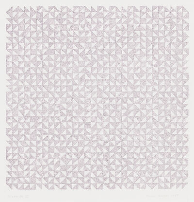 Anni Albers, 'Triadic DR III', 1969