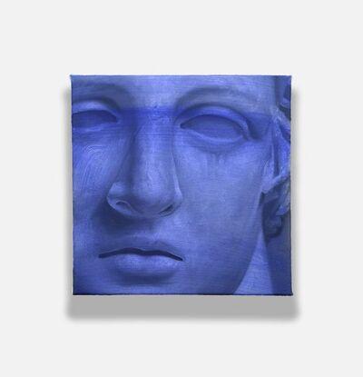 Shawn Huckins, '(Study In Blue)', 2020