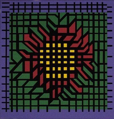Victor Vasarely, 'Kat-Zag', 1980