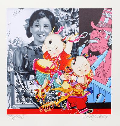 Erró, 'Les Grands Enfants de Mao', 2007