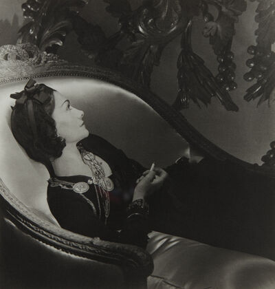 Horst P. Horst, 'Coco Chanel, Paris', 1937-printed later