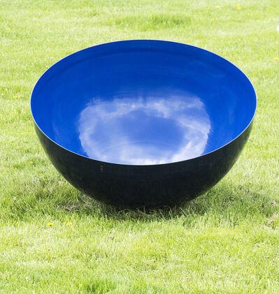 Marlene Hilton Moore, 'Singing Bowl Ultramarine Sky Blue Large Outdoor Sculpture by Marlene Hilton Moore', 2018