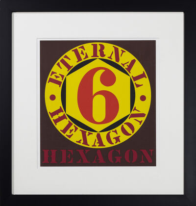 Robert Indiana, 'Eternal Hexagon, from the 10 works by 10 painters portfolio', 1964
