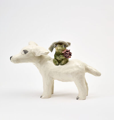 Clémentine de Chabaneix, 'Toad on a dog', 2020