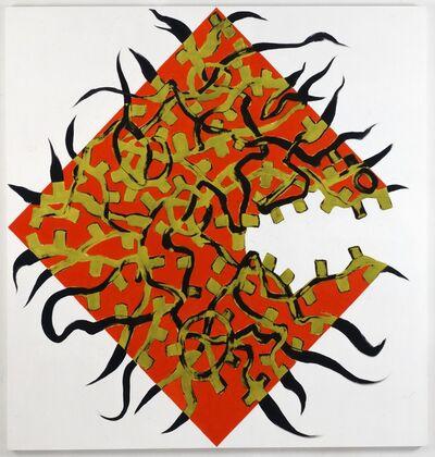 Charline von Heyl, 'Now or Else', 2009