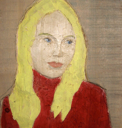 Stephan Balkenhol, 'Woman with blond hair', 2008