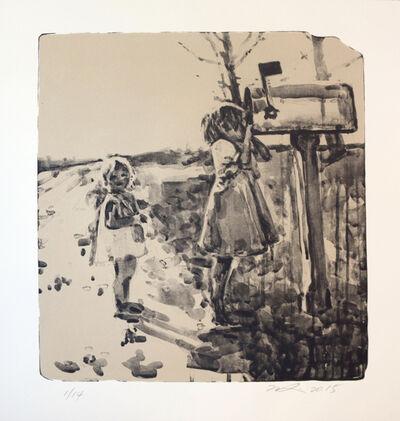 Hung Liu 刘虹, 'Mailbox', 2015