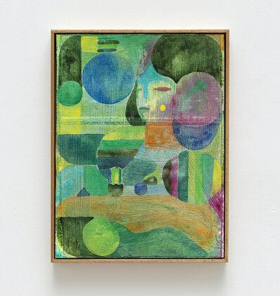 Alexander Tovborg, 'cæcilie med dea (til middag) (II)', 2021