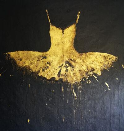Ewa Bathelier, 'Golden Dress', 2020