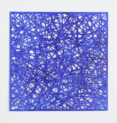 Leigh Suggs, 'Reticulating Lines - Blue', 2020