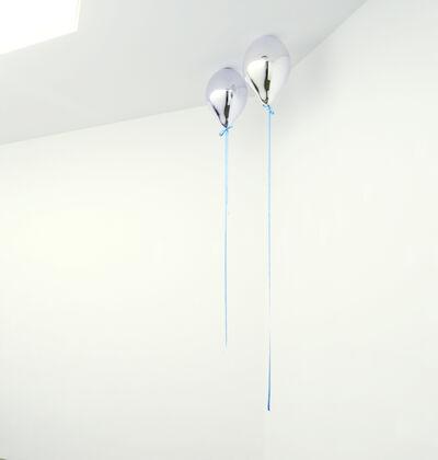 Jeppe Hein, 'Mirror Balloons II(Light Blue)', 2012