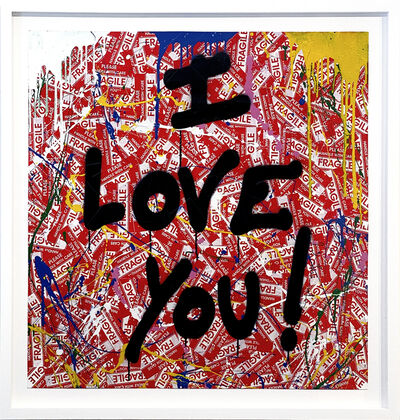 Mr. Brainwash, 'I Love You', 2020