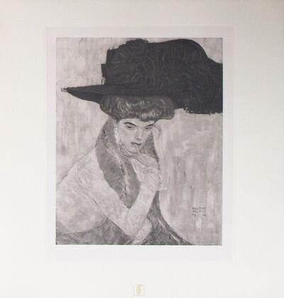Gustav Klimt, 'The Black Feathered Hat [Das Werk Gustav Klimts]', 1914