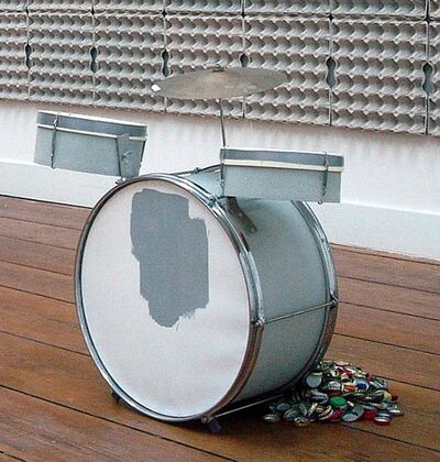 Michael Gumhold, 'Untitled (drum kit, small)', 2010