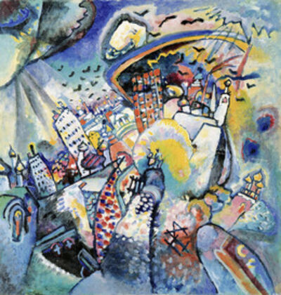 Wassily Kandinsky, 'Red Square in Moscow', 1916