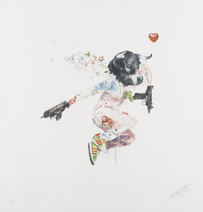 "Antony Micallef, 'ANTONY MICALLEF ""UZI LOVER 1"" SIGNED & NUMBERED BY ARTIST', 2007"
