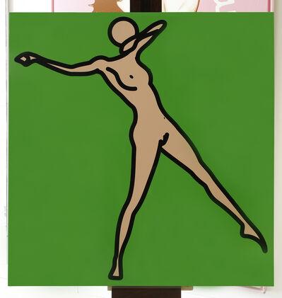 Julian Opie, 'Caterina nude 11', 2009