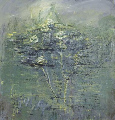 Celia Paul, 'Rosebush, Magdalene Garden', 2017