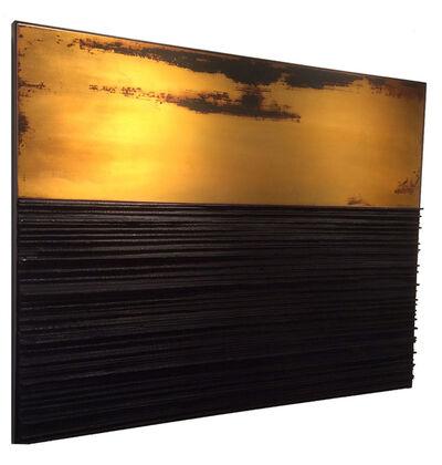 Elisabett Gudmann:    Metal Wall Pieces, 'Subterranean', 2016