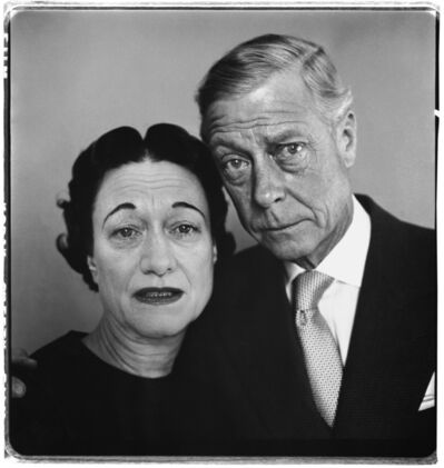 Richard Avedon, 'The Duke and Duchess of Windsor, Waldorf Astoria, Suite 28A, New York, April 16, 1957', 1957