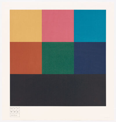 Sol LeWitt, 'All One, Two, Three-Part Combinations of Three Transparent Colors', 1985