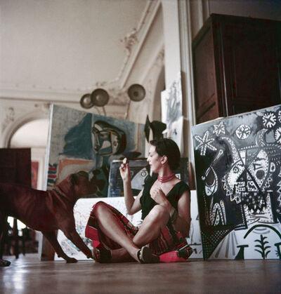 Jacques Henri Lartigue, 'Florette chez Picasso, Cannes', 1955
