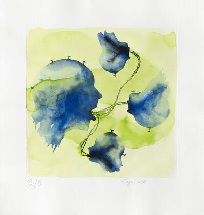 Barthélémy Toguo, 'Sanaga (handcolored)', 2019