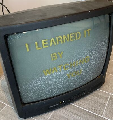 Scott Moran, 'I Learned It From Watching You', 2018
